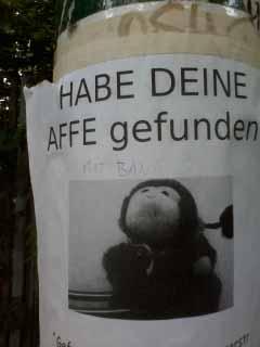 Hast Du meinen Affen gefunden?