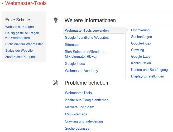 https://support.google.com/webmasters/?hl=de